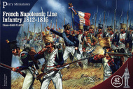 Perry Miniatures  28mm French Napoleonic Line Infantry 1812-1815 (42) PEY201