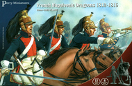 Perry Miniatures  28mm French Napoleonic Dragoons 1812-1815 (13 Mtd, 8 Standing) PEY203