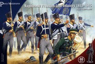 Perry Miniatures  28mm Napoleonic Prussian Line Infantry 1813-1815 (46) PEY205