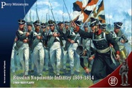 Perry Miniatures  28mm Russian Napoleonic Infantry 1809-1814 (40) PEY206