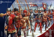 Perry Miniatures  28mm Wars of the Roses Infantry 1455-1487 (40) PEY301