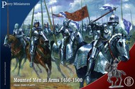 Perry Miniatures  28mm Mounted Men At Arms 1450-1500  (12) PEY303