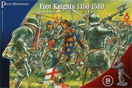 Perry Miniatures  28mm War of the Roses Foot Knights 1450-1500 (38) PEY304