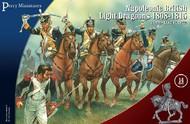 Perry Miniatures  28mm British Napoleonic Dragoons 1808-1815 (14 Mtd) PEY503