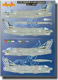 Phoenix Aviation  1/32 A7E Corsair II Last Mission Vol.1 PHX32001