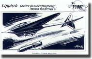 Planet Models  1/48 Lippisch Gleiter Bombenflugzeug PNL021