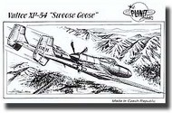 Planet Models  1/72 Vultee XP-54 Swoose Goose PNL072