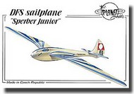 "Planet Models  1/48 DFS sailplane ""Sperber Junior"" PNL132"
