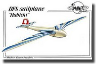 "Planet Models  1/48 DFS sailplane ""Habicht"" PNL133"