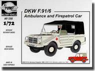DKW F-91/6 (Ambulance and Fire patrol car) #PNLMV098
