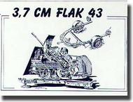 Planet Models  1/72 3.7cm Flak 43 PNLMV007