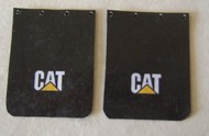 Plastic Dreams  1/25 CAT Truck Mud Flap Set PTD1000
