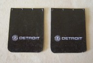 Plastic Dreams  1/25 Detroit Diesel Truck Mud Flap Set PTD1002
