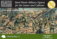 Plastic Soldier  15mm 15mm Late WWII German Infantry 1943-45 (130) PSO1503