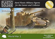 Plastic Soldier  15mm 15mm WWII German Panzer IV Tank (5) PSO1504