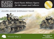 Plastic Soldier  15mm 15mm WWII Allied M4A2 Sherman Tank (5) PSO1505