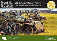 Plastic Soldier  15mm 15mm WWII German Sd.Kfz.251/C Halftrack (5) PSO1508