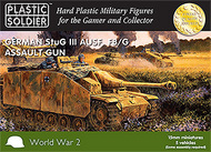 Plastic Soldier  15mm 15mm WWII German StuG III F8/G (Early/Late) w/Assault Gun (5) PSO1510