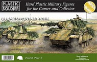 Plastic Soldier  15mm 15mm WWII German Panther Tank (5) PSO1512