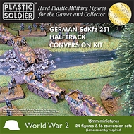 Plastic Soldier  15mm 15mm WWII German Sd.Kfz.251 Halftrack Conversion Set (16) PSO1517