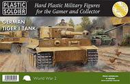 Plastic Soldier  15mm 15mm WWII German Tiger I Tank (4) PSO1520