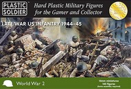 Plastic Soldier  15mm 15mm Late WWII US Infantry 1944-45 (145) PSO1522