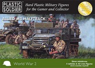 Plastic Soldier  15mm 15mm WWII Allied M3 Halftrack (5) PSO1523