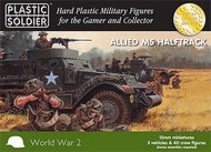 Plastic Soldier  15mm 15mm WWII Allied M5 Halftrack (5) PSO1524