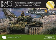 Plastic Soldier  15mm 15mm WWII British Cromwell Tank (5) PSO1526