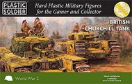 Plastic Soldier  15mm 15mm WWII British Churchill Tank (5) PSO1527