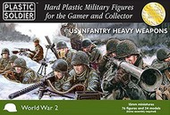 Plastic Soldier  15mm 15mm WWII US Infantry (76) w/Heavy Weapons PSO1528
