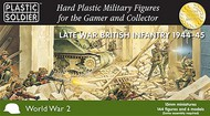 Plastic Soldier  15mm 15mm Late WWII British Infantry (144) w/2 inch Mortars (6) 1944-45 PSO1529