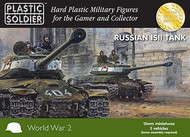 Plastic Soldier  15mm 15mm WWII Russian IS2 Tank (5) PSO1530