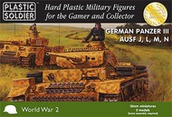 Plastic Soldier  15mm 15mm WWII German Panzer III Ausf J/L/M/N Tank (5) PSO1531