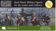 Plastic Soldier  15mm 15mm Early War German Infantry 1939-42 (138) PSO1532