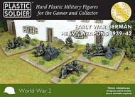 Plastic Soldier  15mm 15mm Early War German Infantry (52) w/Heavy Weapons 1939-42 PSO1537