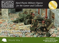 Plastic Soldier  15mm 15mm WWII British Paratroopers (64) w/Heavy Weapons PSO1547