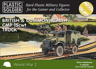 Plastic Soldier  15mm 15mm WWII British & Commonwealth CMP 15cwt Trucks (5) PSO1549
