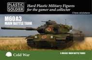 Plastic Soldier  15mm Cold War M60A3 Main Battle Tank (5) PSO1555