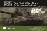 Plastic Soldier  15mm Cold War Leopard 1 Main Battle Tank (5) (New Tool) PSO1556