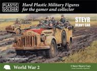15mm WWII German Steyr Heavy Car (5) #PSO1560