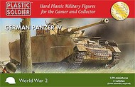 Plastic Soldier  1/72 WWII German Panzer IV Tank (3) PSO7206
