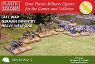 Plastic Soldier  1/72 Late WWII German Infantry (42) w/Heavy Weapons PSO7210