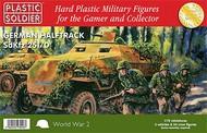 Plastic Soldier  1/72 WWII German Sd.Kfz.251/D Halftrack (3) & Crew (24) PSO7211
