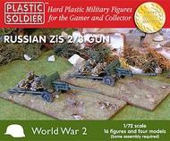 Plastic Soldier  1/72 WWII Russian Zis2/3 Gun (4) & Crew (16) PSO7212
