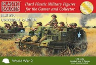 Plastic Soldier  1/72 WWII British Universal Carrier (3) PSO7213