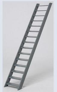 Plastruct  1/16 Sta-22 Stairway  Wide PLA90450