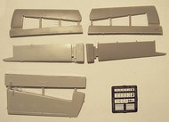 de-Havilland-Canada DHC-4 Caribou - tail surfaces with etched parts #PMAL7002