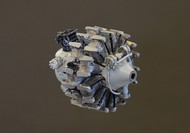 Wright R3350 engine Kit contains 41 resin parts #PMAL7013