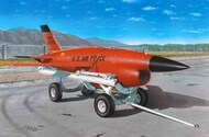BQM-34 Firebee with transport cart #PMAL7035